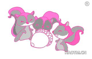 三只松鼠图形