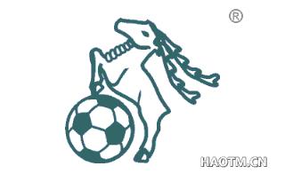 山羊足球图形