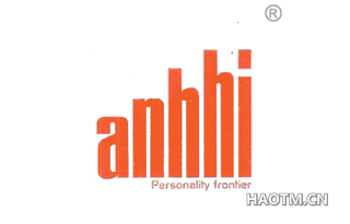 ANHHI PERSONALITY FRONTIER