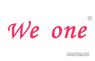 WE ONE