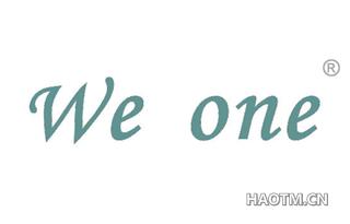 WE ONE