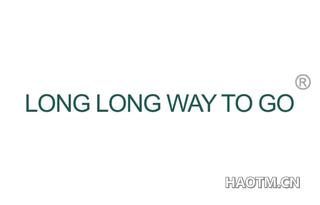 LONG LONG WAY TO GO