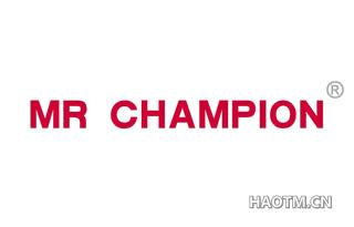 MR CHAMPION