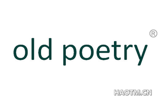 OLD POETRY