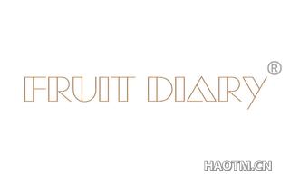 FRUIT DIARY