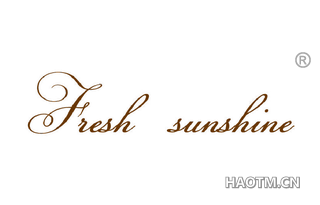 FRESH SUNSHINE