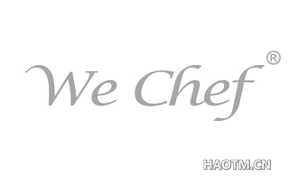 WE CHEF