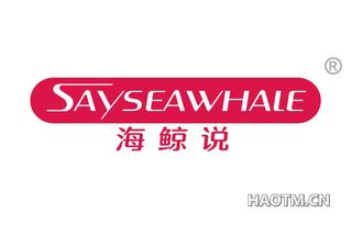海鲸说 SAYSEAWHALE