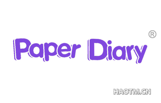 PAPER DIARY