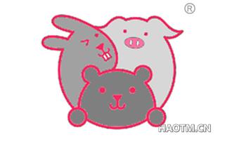 三只动物图形