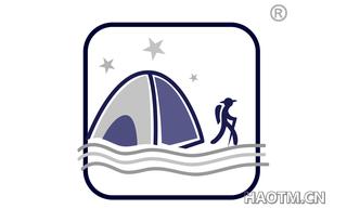 旅行帐篷图形