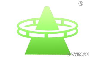 金字塔+圆环图形