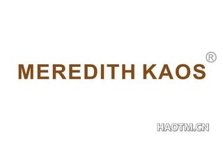 MEREDITH KAOS