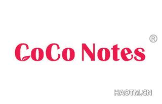 COCO NOTES