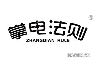 掌电法则 ZHANGDIAN RULE
