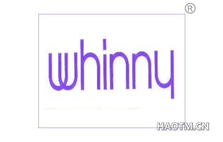 WHINNY